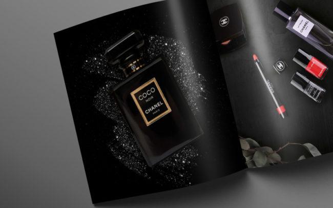 Lifestyle Magazine Layout Chanel