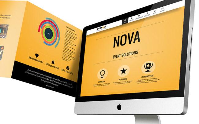 Nova Event Website